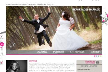 Page d'accueil du site de Graph-photo